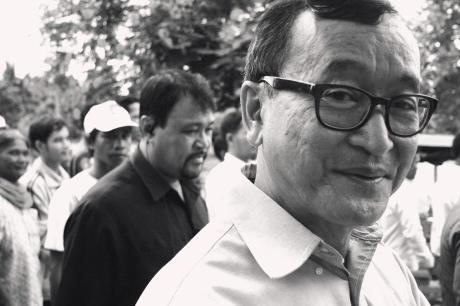 CNRP President Sam Rainsy